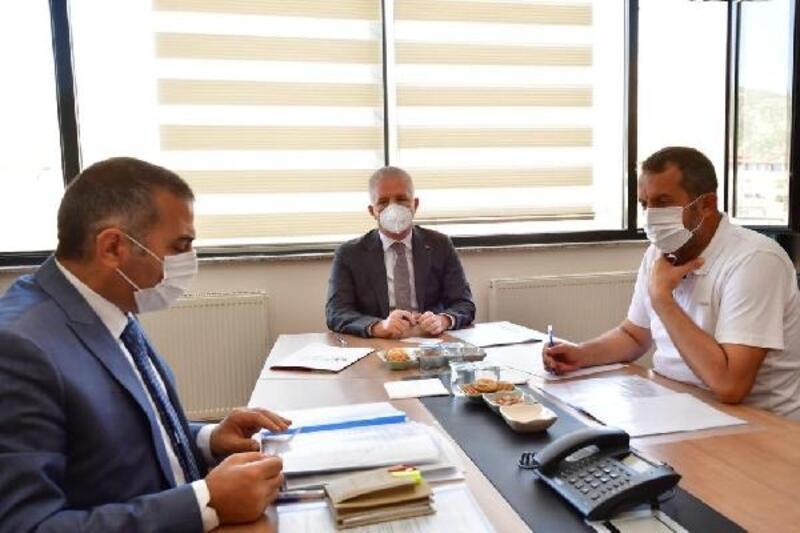 Vali Gül, İslahiye'de OSB değerlendirme toplantısına katıldı