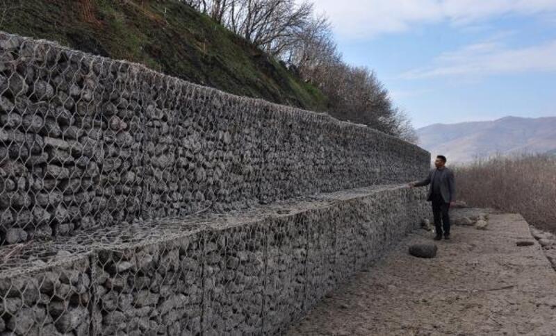 Taşlıgeçit Arkeoloji Parkı sular altında kaldı