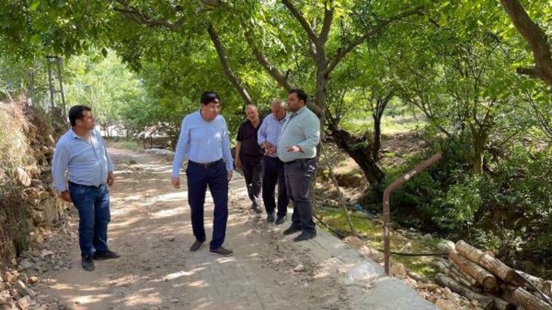 Başkan Özcan'dan Aksu Mahallesi ziyareti