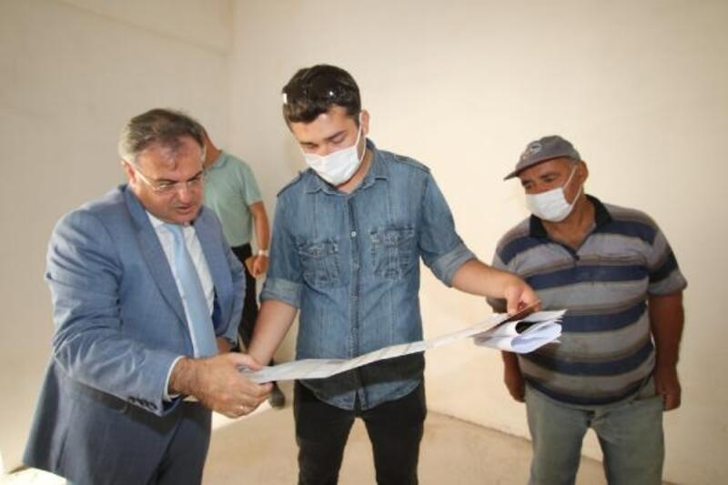 Başkan Özdoğan, kentsel dönüşüm çalışmalarını inceledi