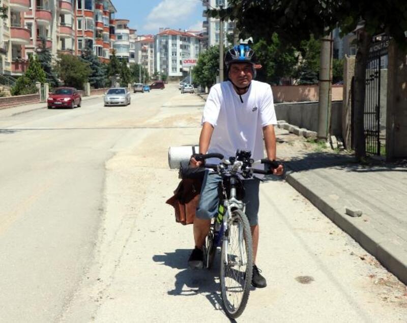 Edirne'den Kars'a pedal çevirecek