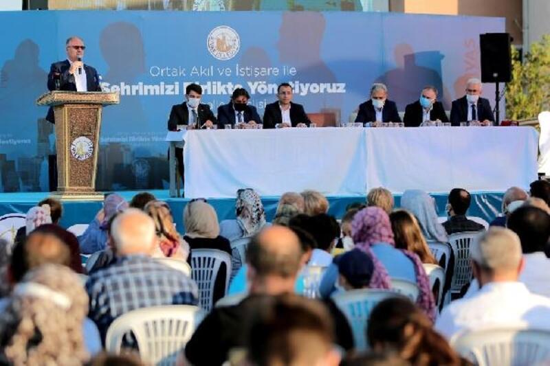 Sivas'ta 'mahalle meclisi' toplantıları sürüyor