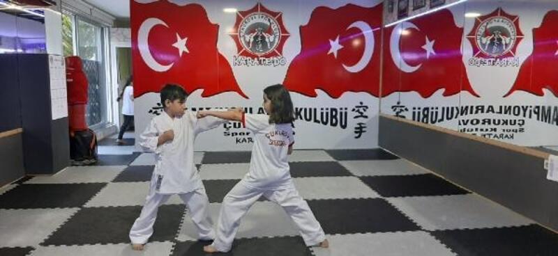 Karateciler çok azimli