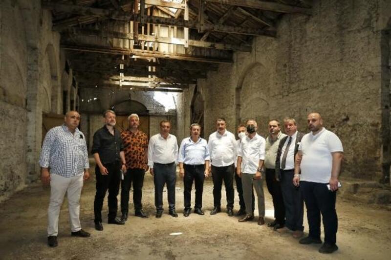 Başkan Batur'dan Cumhur İttifakı'na yatırım gezisi