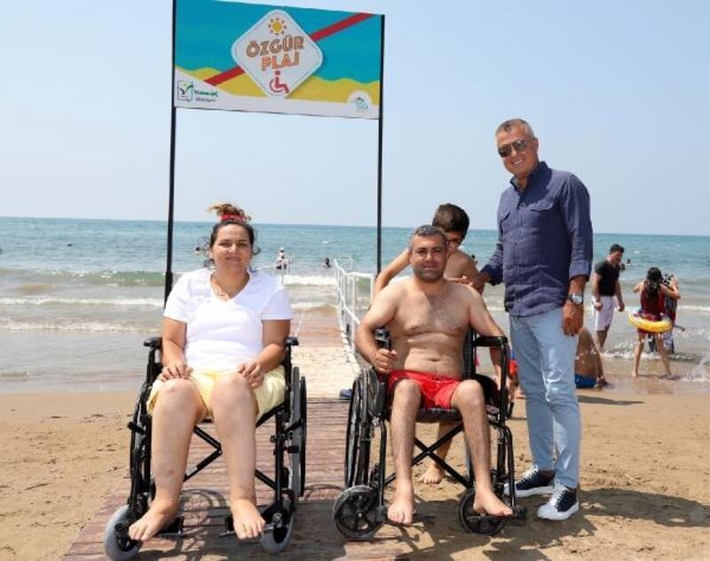 Manavgat Belediyesi Özgür Plajları hizmete açtı