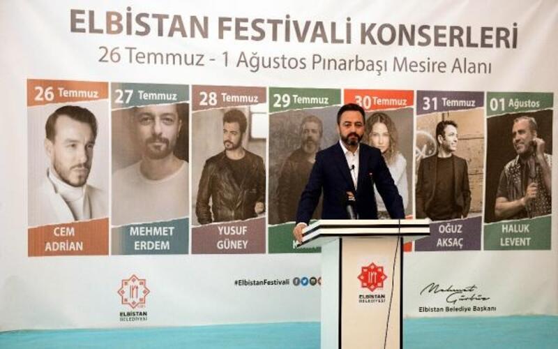 Elbistan'da 'müzik festivali' düzenlenecek