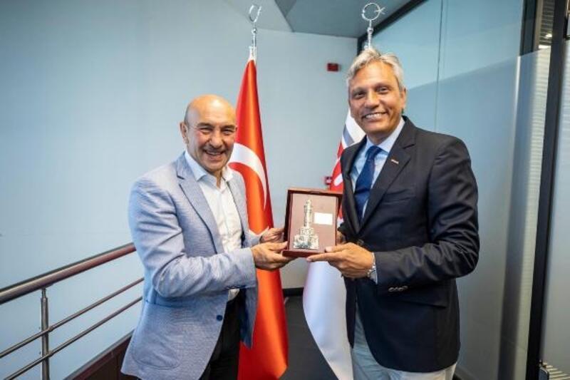 Başkan Soyer TÜRSAB ziyaretinde konuştu: Travel Turkey dünyada ses getirmeli