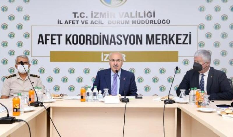 İzmir, deprem master planı toplantısında buluştu