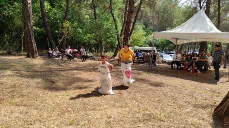 Öksüz ve yetim çocuklar, piknik ve gezide buluştu