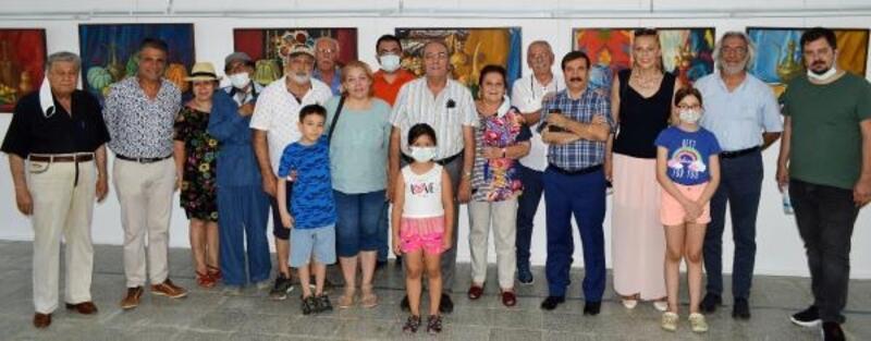 Özbek sanatçının sergi heyecanı