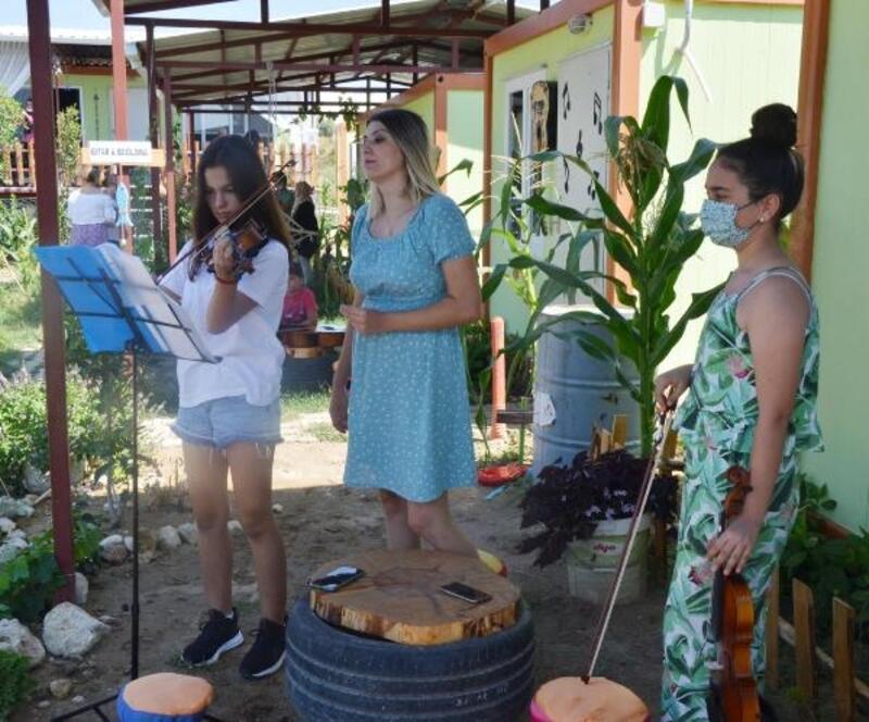Serik'te Müzik Köyü kuruldu