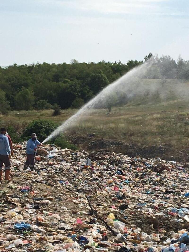 Saros Körfezi'ndeki 40 yıllık çöp depolama alanı, rehabilite edilecek