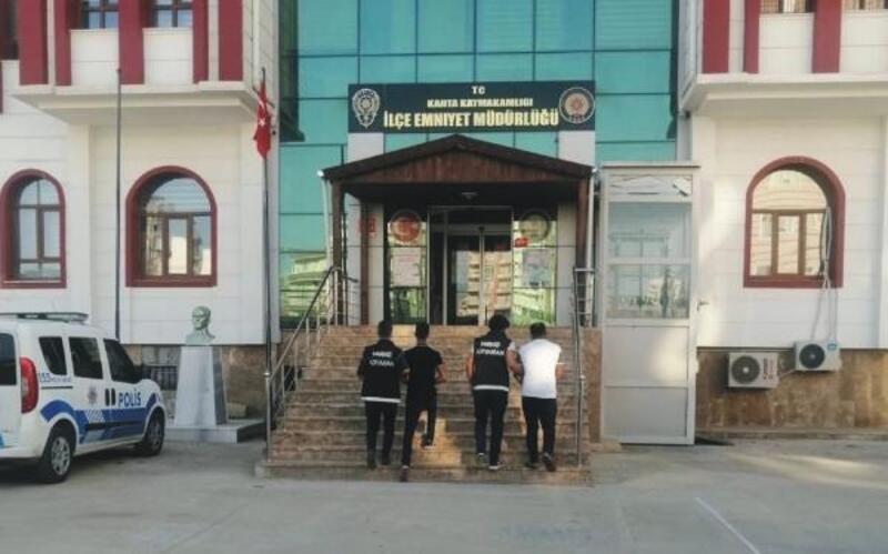 Kahta'da uyuşturucu operasyonuna 2 tutuklama