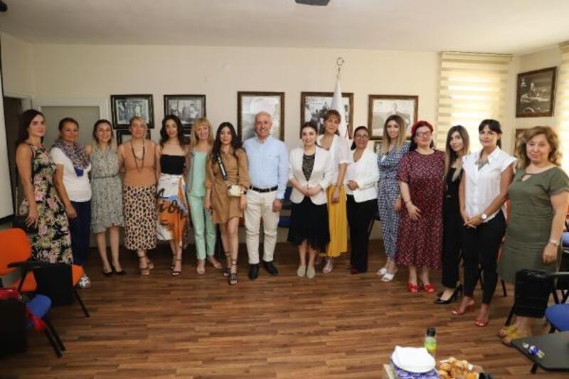 Başkan Gültak'tan girişimci iş kadınlarına ziyaret