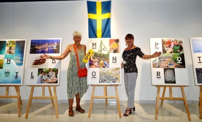 İsveç'i harflerle anlatan sergi