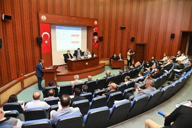 Osmaniye'de 154 projenin 12'si bitirildi