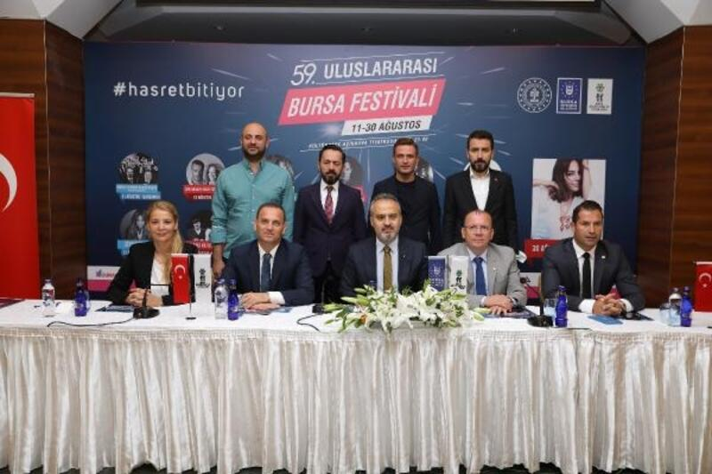 Uluslararası Bursa Festivali 11 Ağustos'ta başlayacak