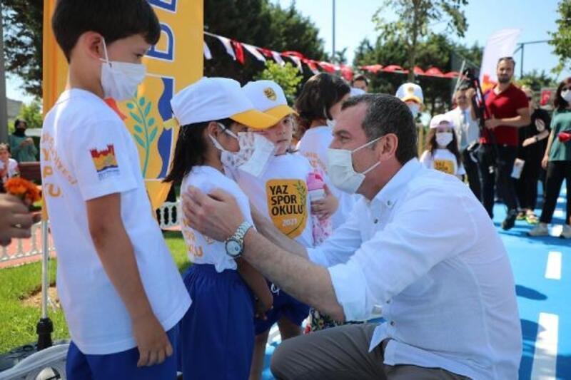 Zeytinburnu'nda Kaykay Parkı hizmete girdi