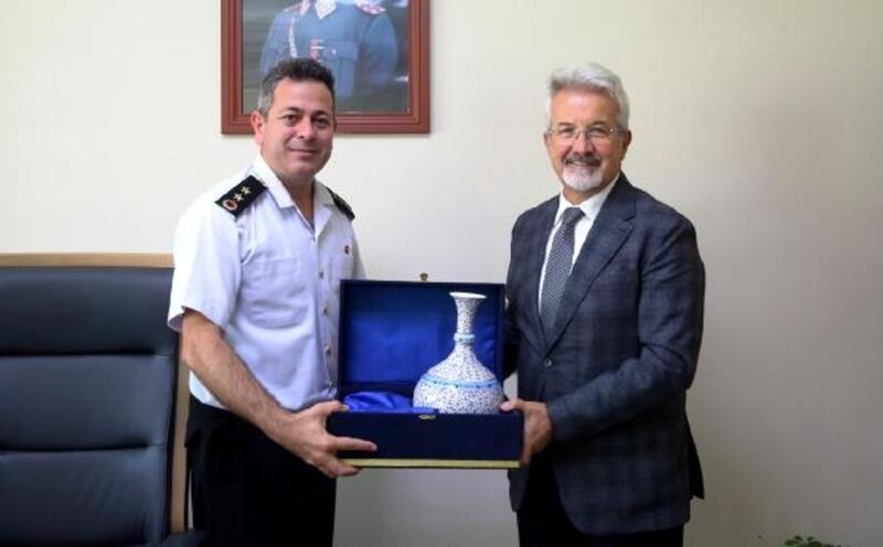Nilüfer Belediye Başkanı Erdem'den Yarbay Kılıç'a ziyaret