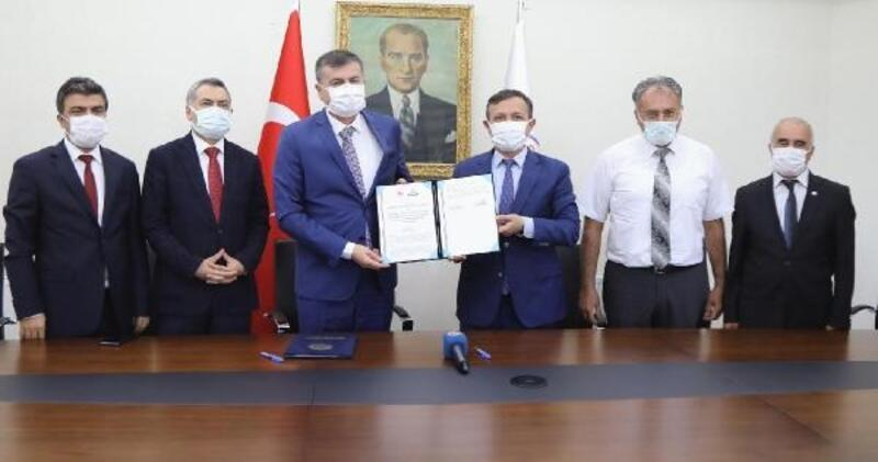 ERÜ'de iş birliği protokolü imzalandı