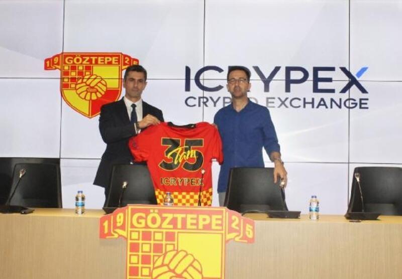 Kripto para borsası Göztepe'nin yeni sponsoru oldu