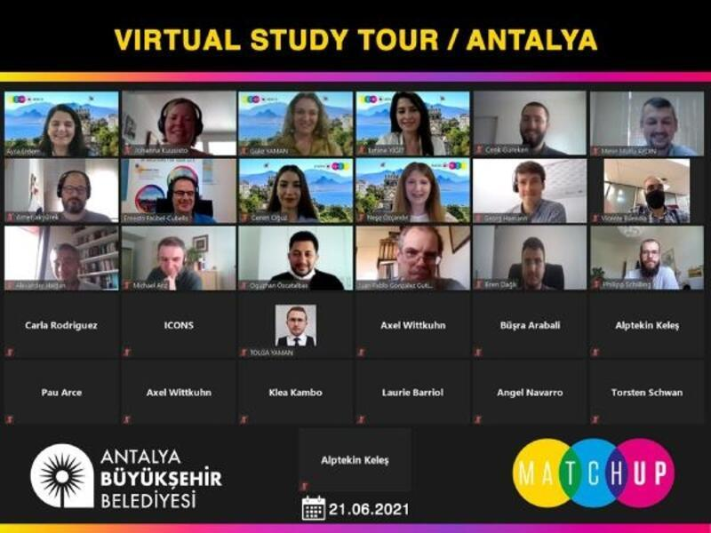 Büyükşehir, Antalya'yı sanal tur ile tanıttı