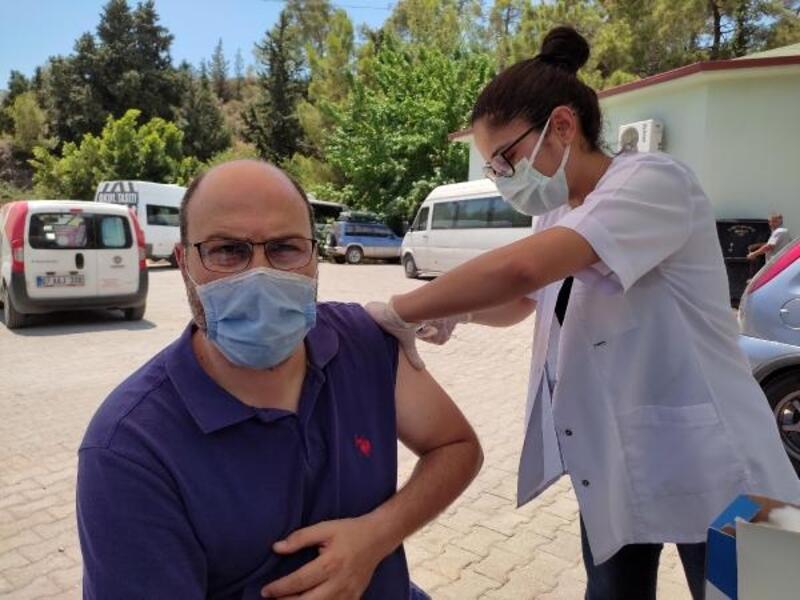 Sanayi çalışanlarına yerinde aşı uygulaması