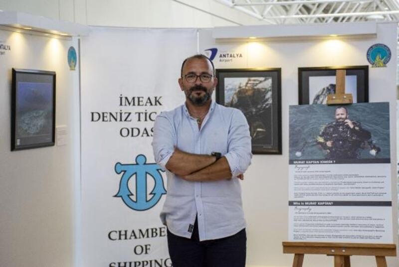 Kaptan'ın Seyir Defteri Sergisi Antalya Havalimanı'nda