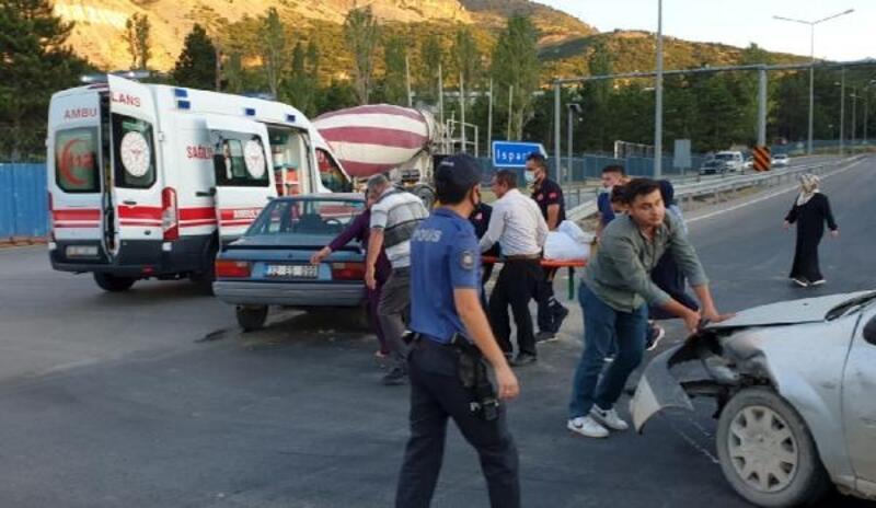 Eğirdir'de kaza: 2 yaralı