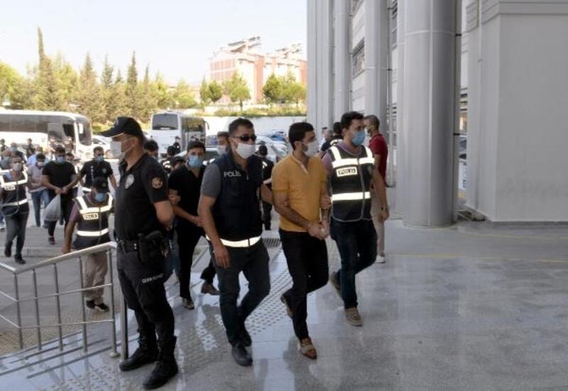 Hatay'da hırsızlık şüphelisi 25 kişiden 9'u tutuklandı