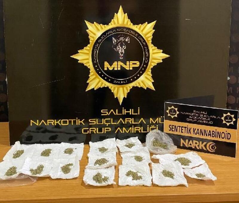 Salihli'de uyuşturucu operasyonuna 1 tutuklama