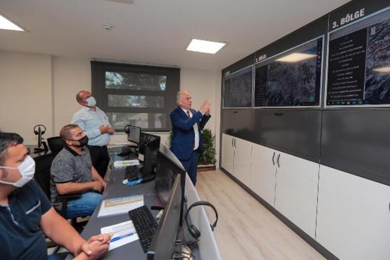 Denizli Büyükşehir Belediye Başkanı Zolan'dan, toplu taşımanın merkezini ziyaret