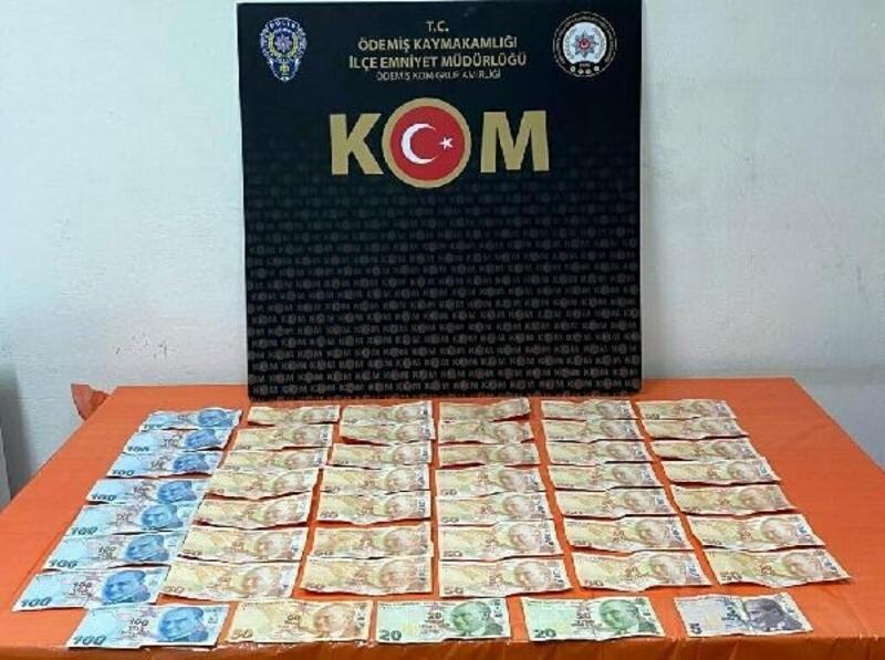 Sahte para dağıtan kişi gözaltına alındı