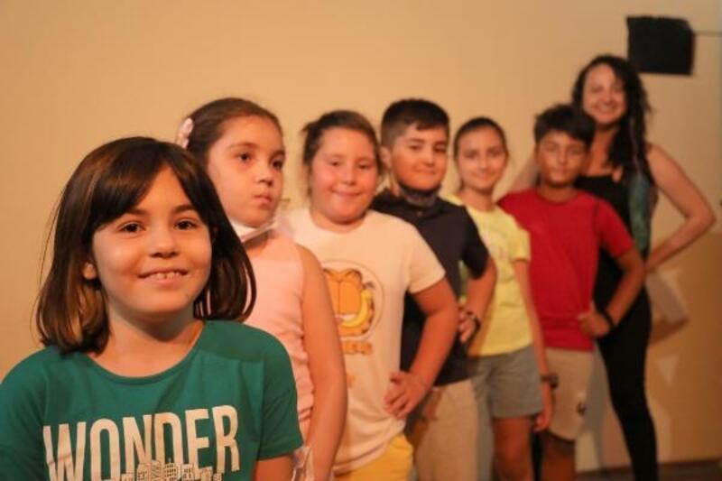 Mezitli'de çocuklar yeteneklerini geliştiriyor