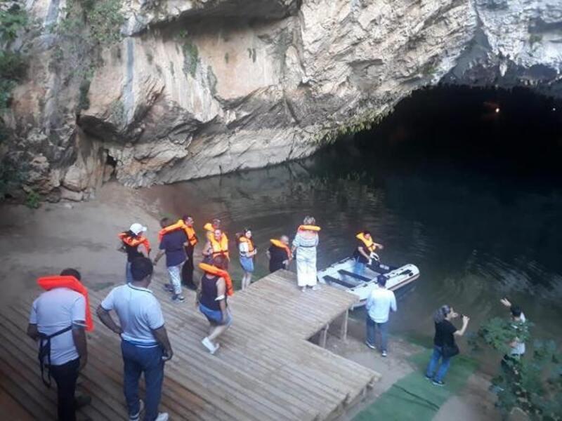 Altınbeşik Mağarası açıldı