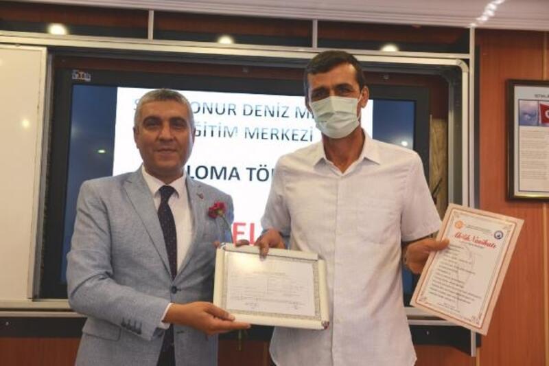 Osmaniye'de ustalara diplomaları verildi