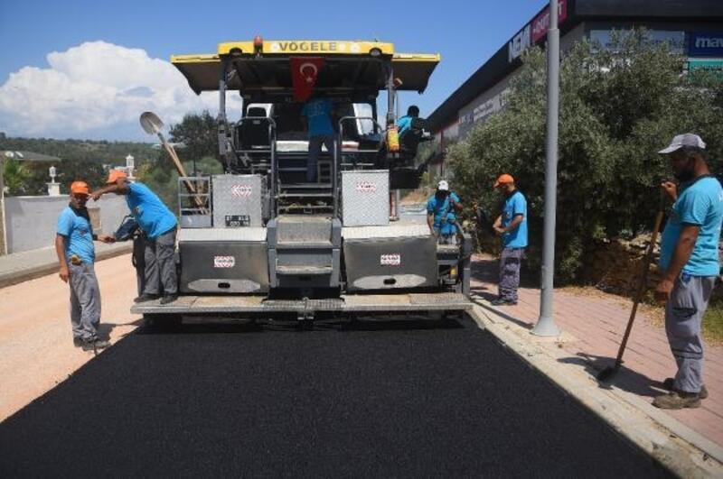 70 kilometrelik asfalta Okurcalar'dan başlandı