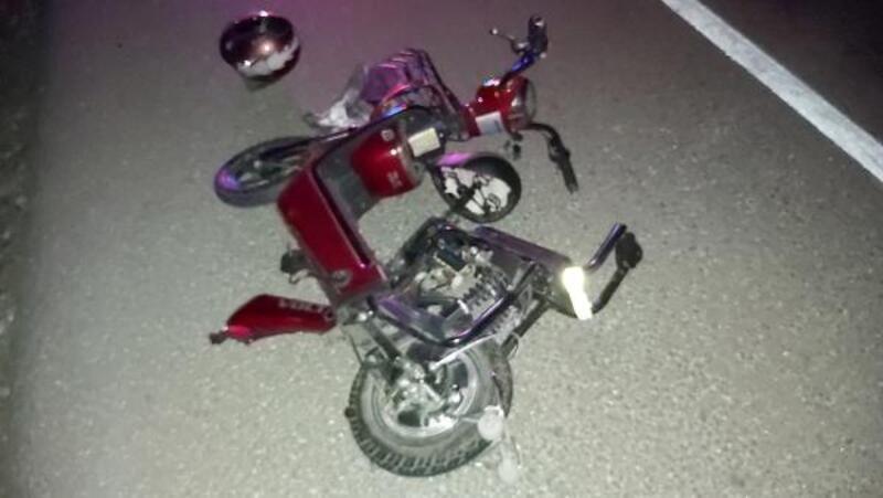 Elektrikli bisikletliye çarpıp kaçtı