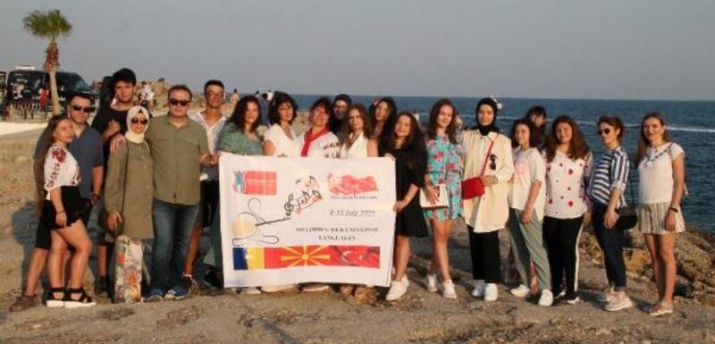 Balkan ülkelerinin gençleri Manavgat'ta