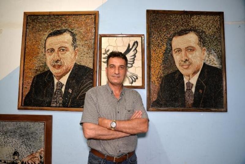 İdlibli mozaik sanatçısı Türk ekonomisine katkıda bulunuyor