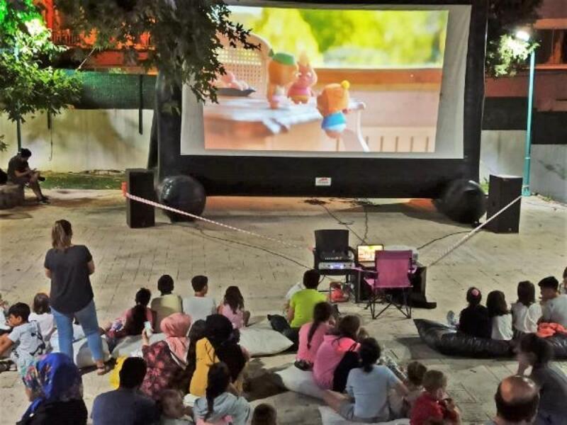 Süleymanpaşa'da açık hava sinema günleri başladı