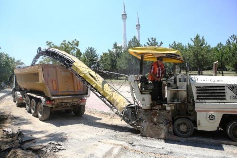 Nilüfer Belediyesi, 6 ayda 15 kilometre yol asfaltladı
