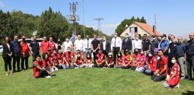 Burdur'da Afetlerde Arama-Kurtarma ve Oryantiring eğitimi