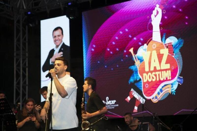 Büyükşehir'in yaz konserleri büyük sahneye taşındı