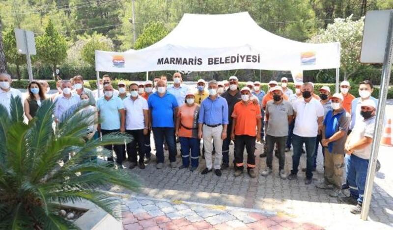 Marmaris Belediyesi'nden işçilere zam