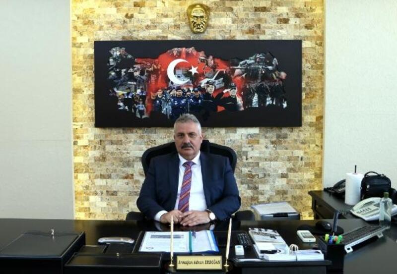 Tokat Emniyet Müdürü Erdoğan göreve başladı