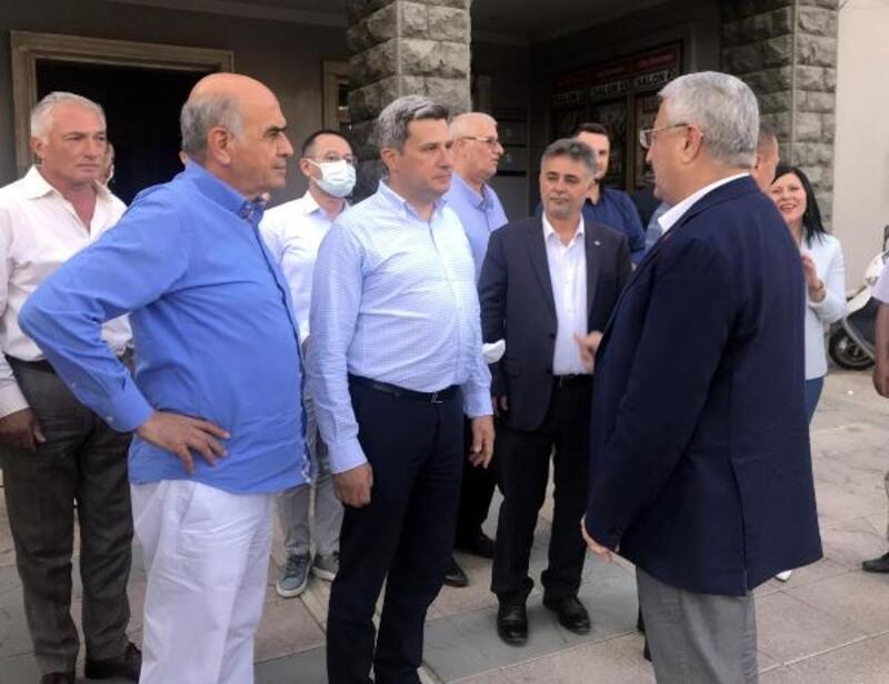 AK Parti Milletvekili Necip Nasır, Ödemiş'te oda başkanlarının sorunları ve isteklerini dinledi
