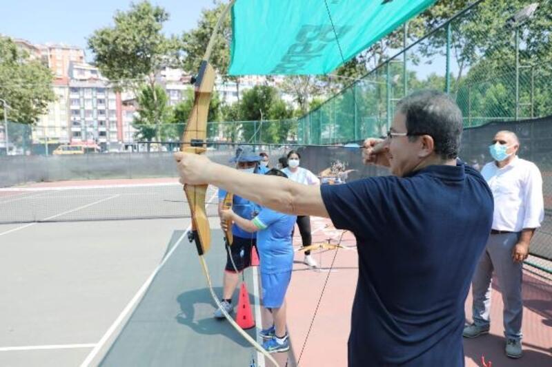 Eyüpsultan'da Yaz Spor Okulları öğrencilerine şenlik düzenlendi