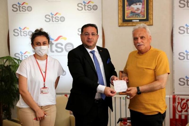 STSO Başkanı Eken'den Kızılay'a kurban bağışı