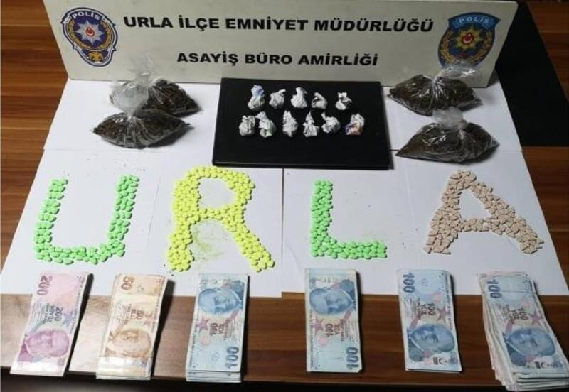 Urla'da uyuşturucu operasyonu: 2 gözaltı